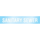 Poly 63202 Poly-Code Clear Self-Adhesive Pipe Markers - Sanitary Sewer