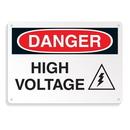 Seton 64699 Equipment Hazard Mini Safety Signs - Danger High Voltage