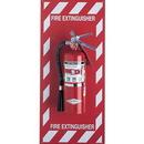 Seton 64886 Fire Extinguisher Mounting Panel