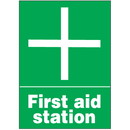 Seton 64908 First Aid Signs - First Aid Station