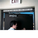 Seton This Door To Be Remained Unlocked Fire Exit Signs - 65249
