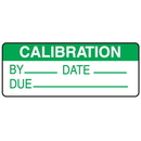Seton 66364 Calibration By Date Due Write On Labels On A Roll