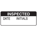 Seton 66369 Inspected Date Initials Write On Labels On A Roll