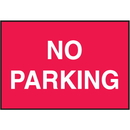 Seton 66878 Facility Signs For Rough Surfaces - No Parking