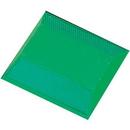 Seton 67894 Reflective Pavement Markers - 2-Way Green Reflector