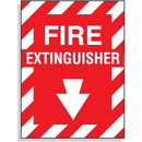 Seton 67998 Fire Extinguisher Fiberglass Sign