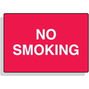 "Seton Fiberglass Sign - No Smoking - 14"" x 10"" - 68009"