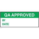 Seton 69436 QA Approved By Date Tamper Evident Labels