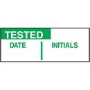Seton 69438 Tested Date Initials Tamper Evident Labels