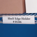 Seton Label Holders For Wire Shelves