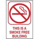 Seton This Is A Smoke Free Building Engraved No Smoking Signs