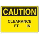 Seton 73155 OSHA Caution Signs - Clearance