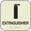 Seton 7338B SetonGlo Signs - Fire Extinguisher