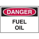 Seton 73605 Danger Signs - Fuel Oil