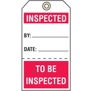 Seton 74923 Quality Control Action Tags- Inspected/To Be Inspected