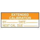 Seton 75489 Calibration Write-On Labels