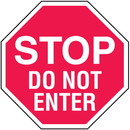 Seton Stop Do Not Enter In Plant Traffic Stop Signs