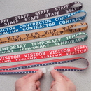 Seton 77642 Stock Printed Breakaway Lanyards - Staff