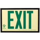 Seton Exit  - Standard Size Photoluminescent Signs With Frame