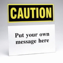 Seton 79516 Custom Safety Sign Insert Holder - Caution