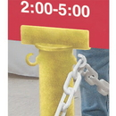 Seton 79636 Stanchion Sign Adapter - Yellow