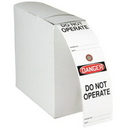 Seton 79724 Safety Tag Rolls - Danger Do Not Operate