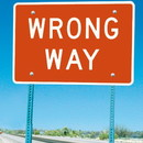 Seton Wrong Way Signs