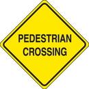 Seton 80439 Traffic Signs - Pedestrian Crossing