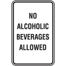 Seton 80470 Property And Business Signs - No Alcoholic Beverages