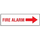 Seton 81080 Fire Alarm with Right Facing Arrow - Directional Signs