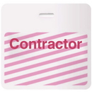 Stock Timebadge 82691 Stock TIMEbadge? - Contractor CARDbadge?