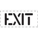 Seton 83819 Exit - Fire & Exit Equipment Stencil