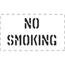 Seton 83825 No Smoking - Fire & Exit Equipment Stencil