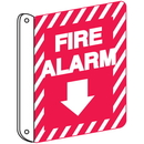 Seton 84546 Fire Alarm 2-Way View Fire Safety Signs
