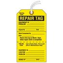 Seton 84603 Jumbo Cardstock Tear-Off Safety Tags - Repair
