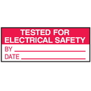 Seton 84729 Tested For Electrical Safety By Date Write On Status Labels