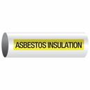 Opti-Code 85096 Opti-Code Self-Adhesive Pipe Markers - Asbestos Insulation