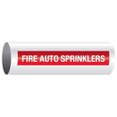 Opti-Code 85166 Opti-Code Self-Adhesive Pipe Markers - Fire Auto Sprinklers