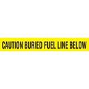Seton 85498 Detectable Underground Warning Tape - Caution Buried Fuel Line Below, Size: 2