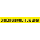 Seton 85503 Detectable Underground Warning Tape - Caution Buried Utility Line Below, Size: 2