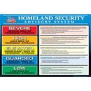 Seton 85544 Homeland Security Advisory System Wall Charts