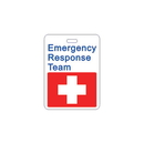 Seton 86186 Specialty ID Badges - Emergency Response Team