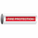 Opti-Code 86678 Opti-Code Self-Adhesive Pipe Markers - Fire Protection