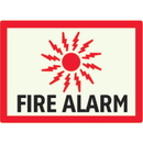 Seton 86784 Fire Alarm - Photoluminescent Sign