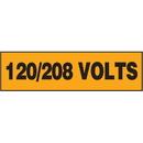 Seton 87320 Electrical Marker Packs - 120/208 Volts