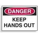 Seton 90311 Baler Safety Labels - Danger Keep Hands Out