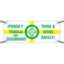 Seton 91049 Safety Slogan Banners