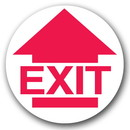 Seton Emergency Floor Markers - Exit