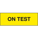 Seton 91279 On Test ISO Status Signs