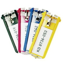 Seton 92288 Key Control System Extra Colored Key Tags - Assorted Color Package